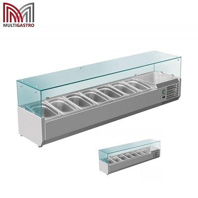 Kjølerenne med glasstopp for GN1/4